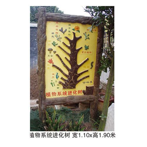 地理园系列 植物系统进化树