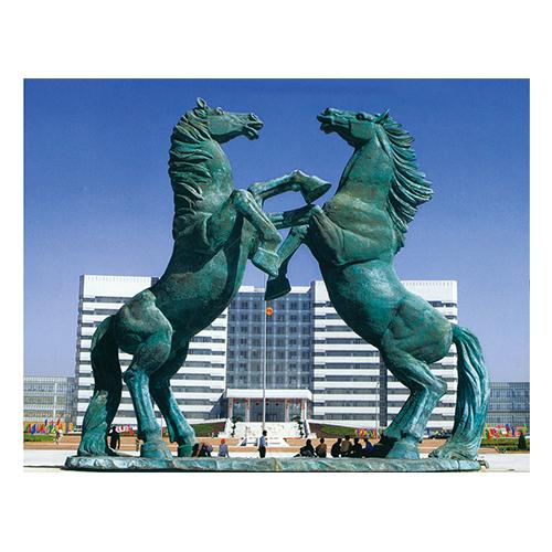 天驹行空 安装于内蒙古鄂尔多斯市