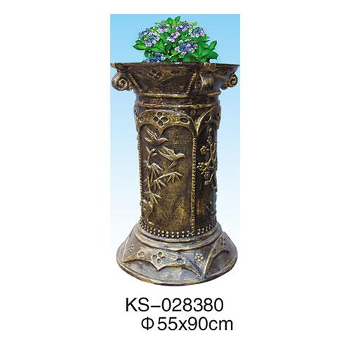 玻璃钢垃圾桶系列 KS-028380