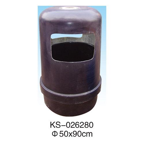 玻璃钢垃圾桶系列 KS-026280