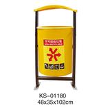 玻璃钢垃圾桶系列 -KS-01180