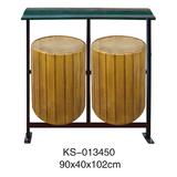 玻璃钢垃圾桶系列 -KS-013450