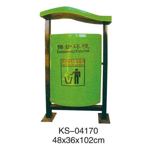 玻璃钢垃圾桶系列 KS-04170