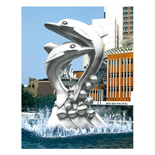 不锈钢雕塑 KS-062