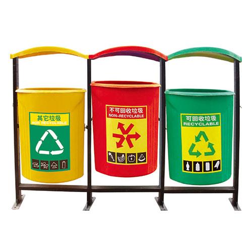 玻璃钢垃圾桶系列 KS-016520