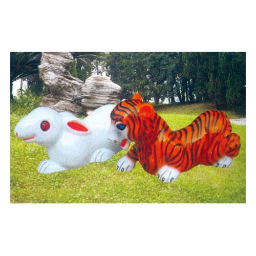 动物园系列 兔 虎