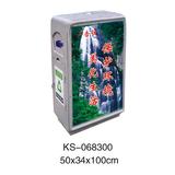 冲孔型钢板垃圾桶、灯箱系列 -KS-068300