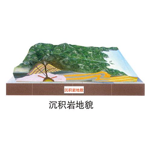 地理园地貌系列 沉积岩地貌