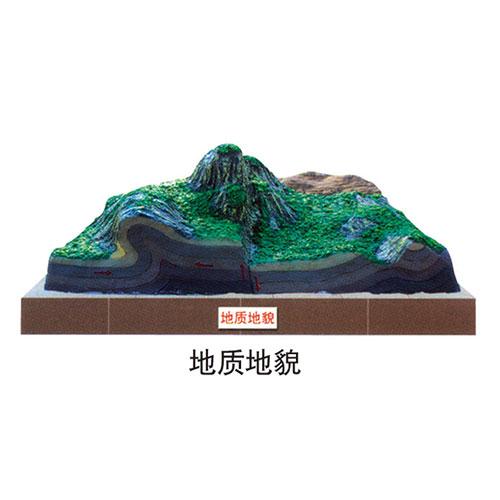 地理园地貌系列 地质地貌