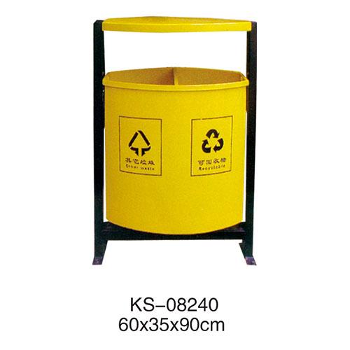 玻璃钢垃圾桶系列 KS-08240
