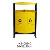 玻璃钢垃圾桶系列 -KS-08240