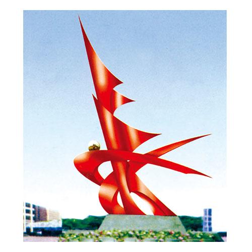 不锈钢雕塑 KS-055
