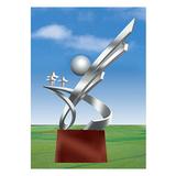 不锈钢雕塑 -KS-074