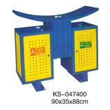 冲孔型钢板垃圾桶系列 -KS-047400