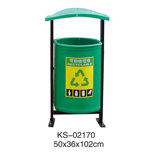 玻璃钢垃圾桶系列 KS-02170