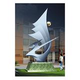 不锈钢雕塑 -KS-077