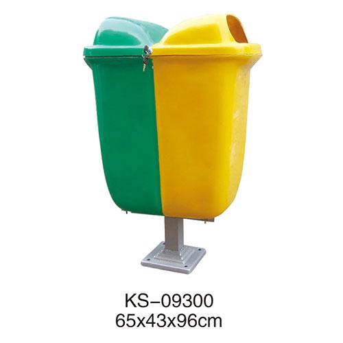 玻璃钢垃圾桶系列 KS-09300