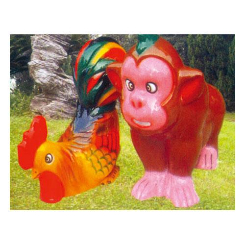 动物园系列 鸡 狗