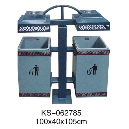 冲孔型钢板垃圾桶、灯箱系列 KS-062785