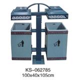 冲孔型钢板垃圾桶、灯箱系列 -KS-062785
