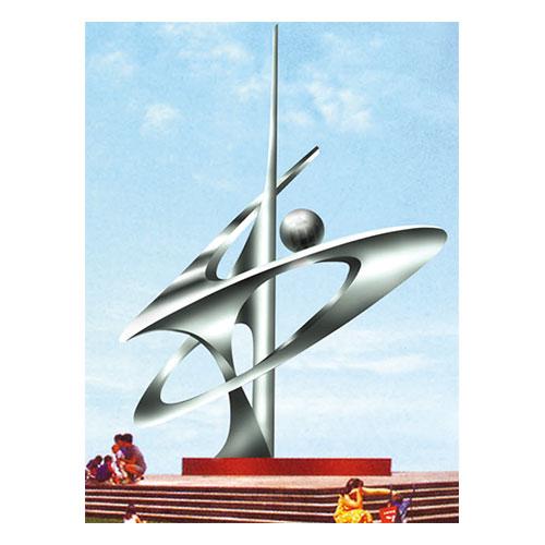 不锈钢雕塑 KS-112