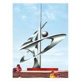 不锈钢雕塑 -KS-112