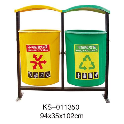 玻璃钢垃圾桶系列 KS-011350