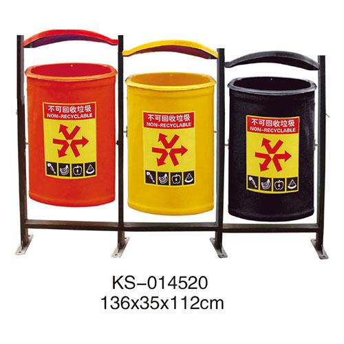 玻璃钢垃圾桶系列 KS-014520