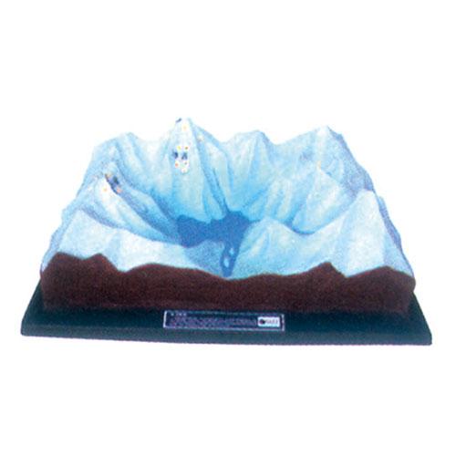 地理教室专用教具 冰川地貌