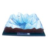 地理教室专用教具 -冰川地貌