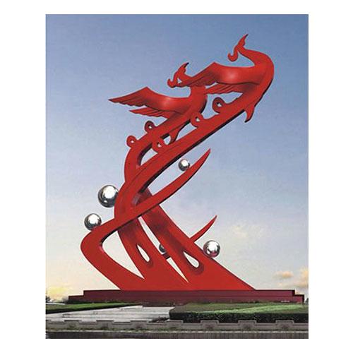 不锈钢雕塑 KS-021
