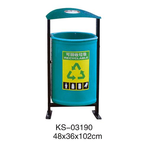玻璃钢垃圾桶系列 KS-03190