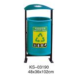 玻璃钢垃圾桶系列 -KS-03190