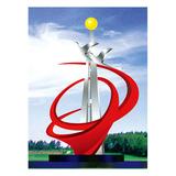 不锈钢雕塑 -KS-086