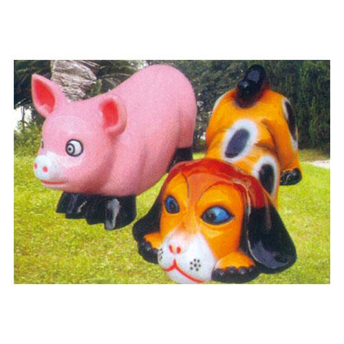 动物园系列 猪 狗