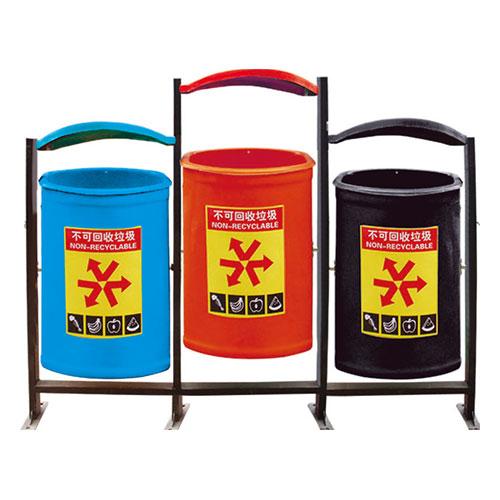 玻璃钢垃圾桶系列 KS-015520