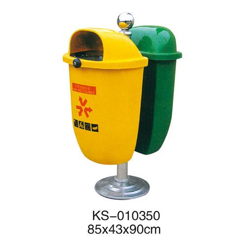玻璃钢垃圾桶系列 KS-010350