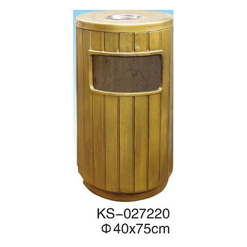 玻璃钢垃圾桶系列 KS-027220