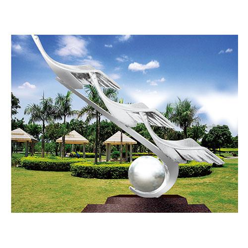 不锈钢雕塑 KS-054