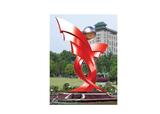 不锈钢雕塑 -托起明天的太阳A