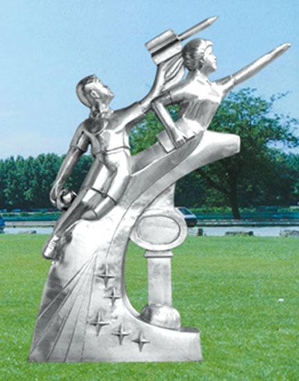 不锈钢雕塑 希望之星D