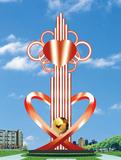 不锈钢雕塑 -中国结