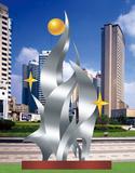 不锈钢雕塑 -成长