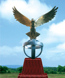 不锈钢雕塑 -鹰