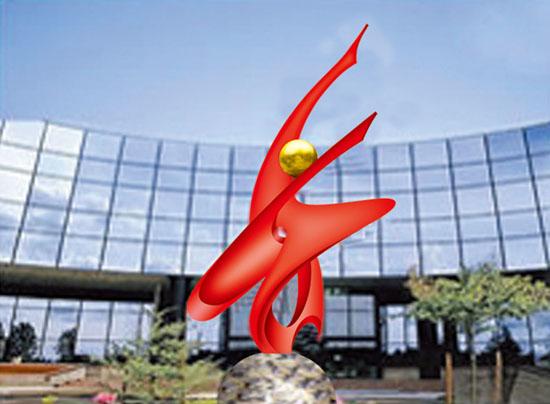不锈钢雕塑 翔