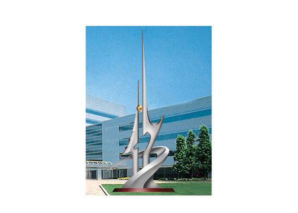 不锈钢雕塑 二十一世纪之星