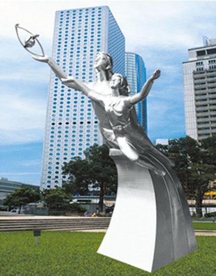 不锈钢雕塑 希望之星B