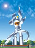 不锈钢雕塑 -托起未来