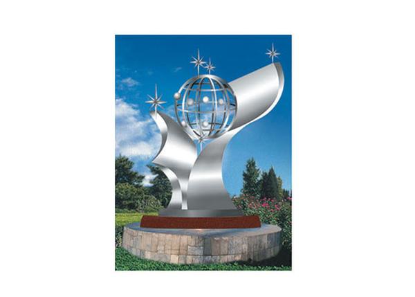不锈钢雕塑 世纪星空