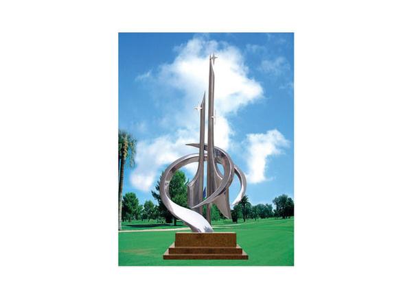 不锈钢雕塑 未来之星A